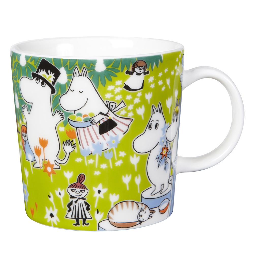 mumin becher toves jubil um moomin kaffeebecher ebay. Black Bedroom Furniture Sets. Home Design Ideas