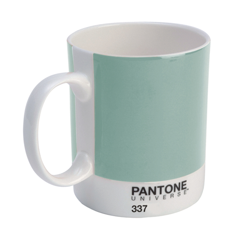 pantone becher mint green 337 kaffeebecher neu ebay. Black Bedroom Furniture Sets. Home Design Ideas